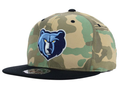 Memphis Grizzlies Mitchell and Ness NBA Ambush Fitted Cap
