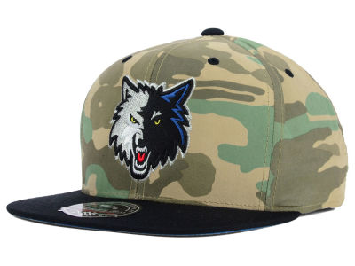 Minnesota Timberwolves Mitchell and Ness NBA Ambush Fitted Cap