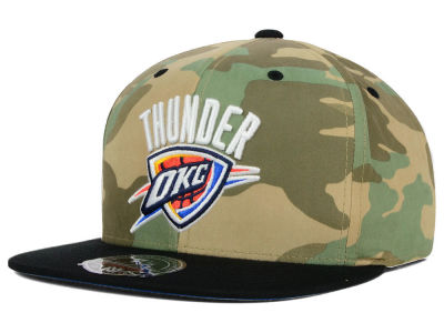Oklahoma City Thunder Mitchell and Ness NBA Ambush Fitted Cap