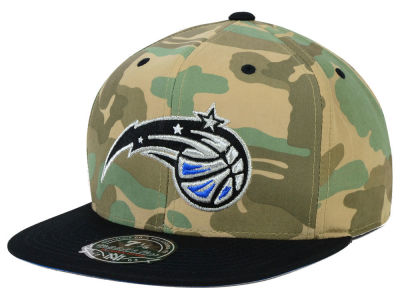 Orlando Magic Mitchell and Ness NBA Ambush Fitted Cap