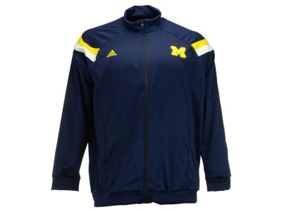 Michigan Wolverines adidas NCAA Mens Anthem Warm-Up Jacket