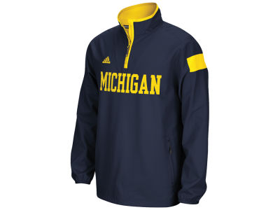Michigan Wolverines adidas NCAA Men's 1/4 Zip Jacket