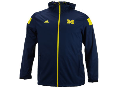 Michigan Wolverines adidas NCAA Sideline Full Zip Jacket