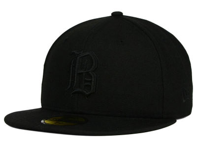 Birmingham Barons New Era MiLB Black on Black 59FIFTY Cap