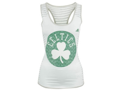 Boston Celtics adidas NBA Women's Lace Up Tank