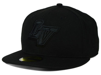 Las Vegas 51s New Era MiLB Black on Black 59FIFTY Cap