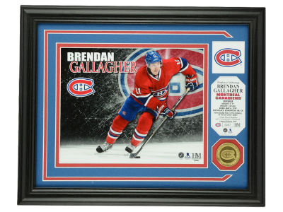 Montreal Canadiens Brendan Gallagher Photo Mint Coin-Bronze