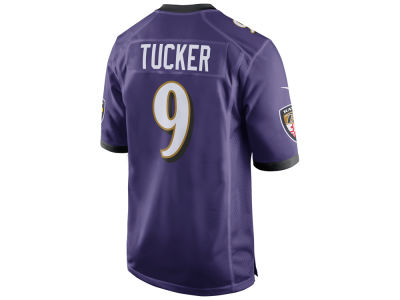 Baltimore Ravens Justin Tucker Nike NFL Men's Game Jersey