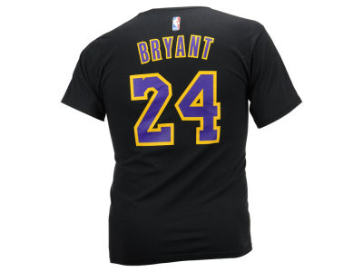 Los Angeles Lakers Kobe Bryant adidas NBA Men's Player Pride T-Shirt