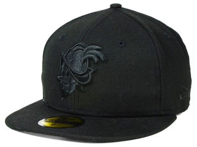 Albuquerque Dukes New Era MiLB Black on Black 59FIFTY Cap