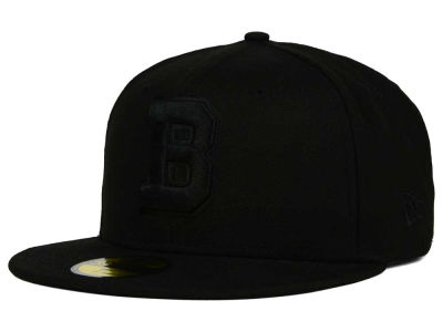 Buffalo Bisons New Era MiLB Black on Black 59FIFTY Cap
