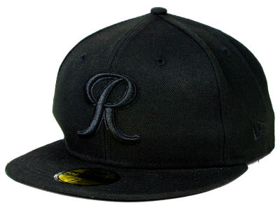 Tacoma Rainiers New Era MiLB Black on Black 59FIFTY Cap
