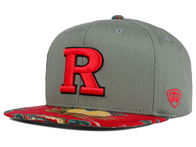 Rutgers Scarlet Knights Top of the World NCAA Shoreline Snapback Cap