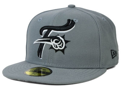 Reading Phillies New Era MiLB Gray Black White 59FIFTY Cap