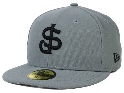 San Jose Giants New Era MiLB Gray Black White 59FIFTY Cap