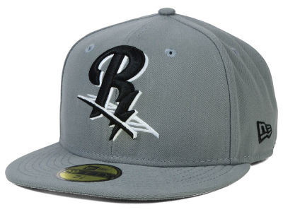 Scranton Wilkes-Barre RailRiders New Era MiLB Gray Black White 59FIFTY Cap