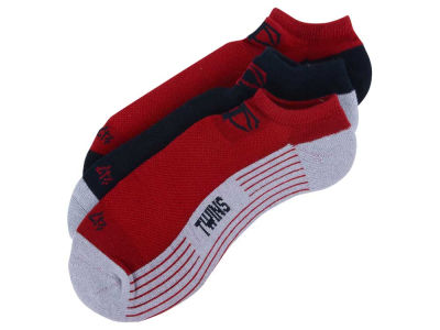 Minnesota Twins 3-pack Sportlite Float No Show Socks