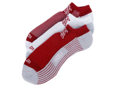 Los Angeles Angels 3-pack Sportlite Float No Show Socks