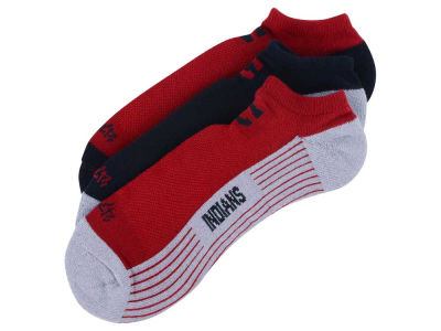 Cleveland Indians 3-pack Sportlite Float No Show Socks