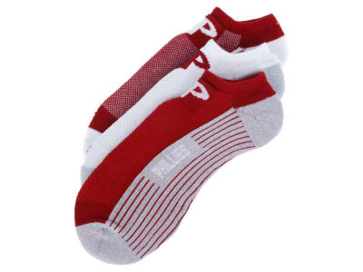 Philadelphia Phillies 3-pack Sportlite Float No Show Socks