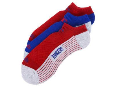 Texas Rangers 3-pack Sportlite Float No Show Socks