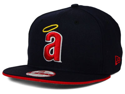Los Angeles Angels New Era MLB Coop Flip 9FIFTY Snapback Cap
