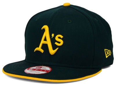 Oakland Athletics New Era MLB Coop Flip 9FIFTY Snapback Cap