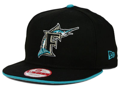 Florida Marlins New Era MLB Coop Flip 9FIFTY Snapback Cap