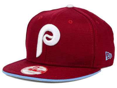 Philadelphia Phillies New Era MLB Coop Flip 9FIFTY Snapback Cap