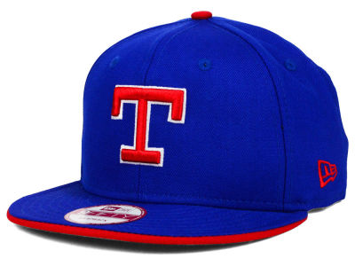 Texas Rangers New Era MLB Coop Flip 9FIFTY Snapback Cap