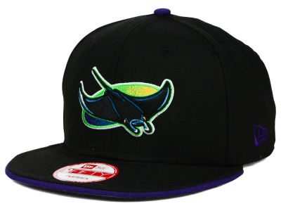 Tampa Bay Rays New Era MLB Coop Flip 9FIFTY Snapback Cap