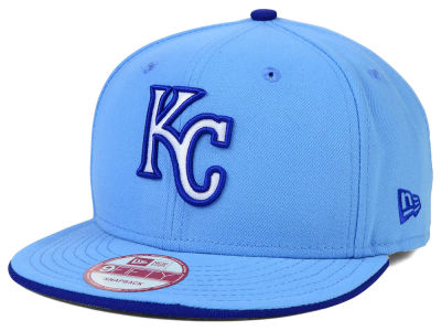Kansas City Royals New Era MLB Coop Flip 9FIFTY Snapback Cap