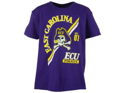 East Carolina Pirates NCAA Youth Over Arc T-Shirt