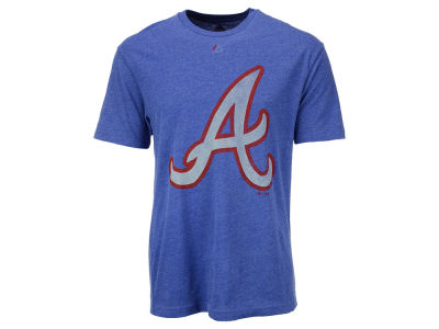 Atlanta Braves Majestic MLB Men's Leadoff Cooperstown T-Shirt
