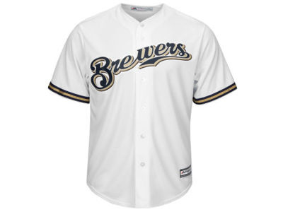 Milwaukee Brewers MLB Youth Blank Replica Jersey