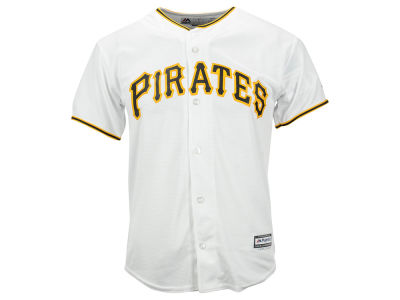 Pittsburgh Pirates Majestic MLB Youth Blank Replica Jersey