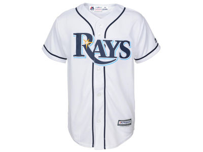 Tampa Bay Rays Majestic MLB Youth Blank Replica Jersey