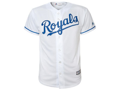 Kansas City Royals Majestic MLB Youth Blank Replica Jersey