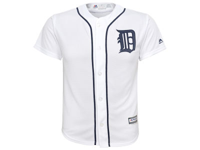 Detroit Tigers MLB Youth Blank Replica Jersey