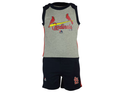 St. Louis Cardinals MLB Toddler Muscle Tank & Short Outfit