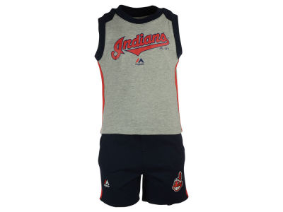 Cleveland Indians MLB Toddler Muscle Tank & Short Outfit