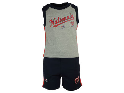 Washington Nationals MLB Toddler Muscle Tank & Short Outfit