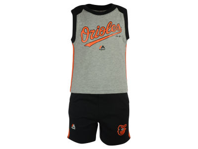 Baltimore Orioles MLB Toddler Muscle Tank & Short Outfit