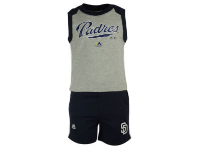 San Diego Padres MLB Toddler Muscle Tank & Short Outfit