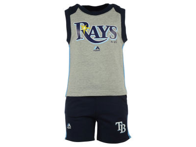 Tampa Bay Rays MLB Toddler Muscle Tank & Short Outfit