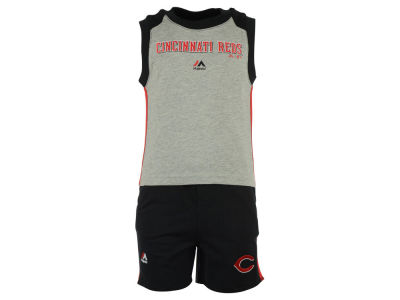 Cincinnati Reds MLB Toddler Muscle Tank & Short Outfit