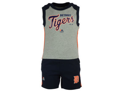 Detroit Tigers MLB Toddler Muscle Tank & Short Outfit