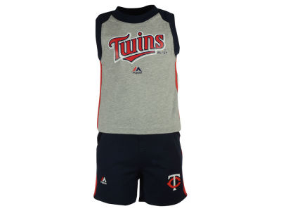 Minnesota Twins MLB Toddler Muscle Tank & Short Outfit