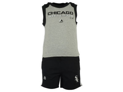 Chicago White Sox MLB Toddler Muscle Tank & Short Outfit