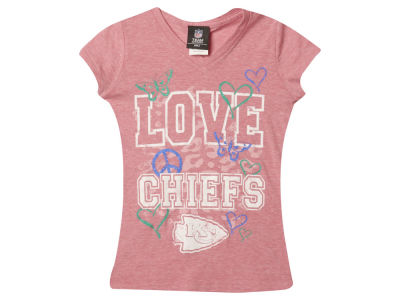 Kansas City Chiefs NFL Youth Girls Love Team T-Shirt
